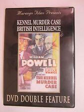 MARENGO FILMS - The Kennel Murder Case/British Intelligence (DVD. 2004) FREE SHI
