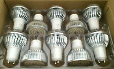 10x 6W GU10 LED Bulb Dimmable Spotlight Lamps Warm White Lights 220V
