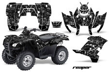 ATV Graphics Kit Decal Sticker Wrap For Honda Rancher AT 2007-2013 REAPER BLACK