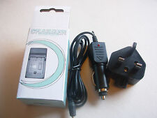 Battery AC+Car Charger For Canon NB-4L SD1000 SD300 C18