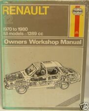 NEW HAYNES MANUAL RENAULT 12 0097
