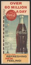 1960 COCA-COLA Unused Blotter