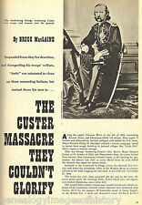 Custer Massacre They Couldn't Glorify + Genealogy