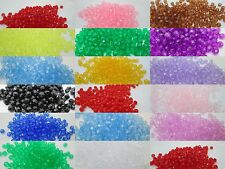 200 - Plastic 4mm Round Faceted Beads - Color Choice