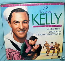 LD laser GENE KELLY COLLECTION On the Town/Brigadoon/It's Always Fair Weather BX
