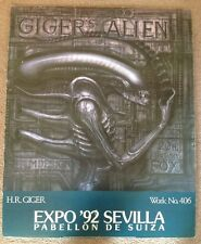 H.R. Giger's Alien Poster Expo 1992 Sevilla Spain Work 406 Dead Kennedys Art