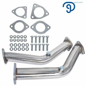 Fit for 2003-2006 Nissan 350z Infiniti G35 FX35 3.5L Straight Exhaust Kit