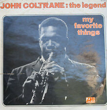 "John Coltrane "" My Favorite Things "" VG+ / VG 1972"