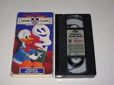DONALD'S SCARY TALES Walt Disney Cartoon Classics V. 13 (VHS)  Halloween Duck
