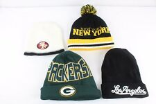 Lot 4 Beanie Hat Caps Winter Sports New York Los Angeles Packers San Francisco