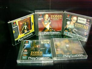 Tomb Raider 1-5 PSone Games Bundle