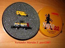 Marklin Märklin Z  Jahreswagen 1997 Nigirn in Blechdose New OVP