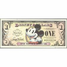 TWN - DISNEY - 1 Dollar 2008 UNC 80th Ann. Micky Mouse private issue