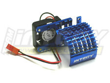 INTEGY RC Car C22480BLUE Side Mount Super Motor Heatsink+Fan 540