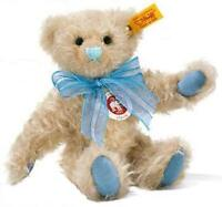 New Steiff Fully jointed Poseable Classic Teddy Bear + Steiff Gift Box 001819