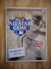 2012 MLB All-Star Game Program- George Brett Cover