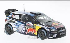 VW Polo R WRC #1, Volkswagen Motorsport red bull australia Ogier'16 1:43 Ixo