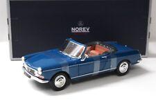 1:18 Norev Peugeot 404 Cabriolet 1967 mendoza blue NEW bei PREMIUM-MODELCARS