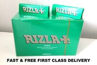 600 RIZLA GREEN ROLLING PAPERS MADE IN BELGIUM ORIGINAL 12 BOOKLETS