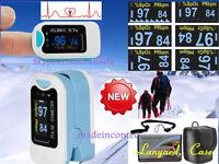 Oxímetro Pulso para Dedos Fingertip Oxygen SPO2 PR Monitor Cuidado Casa CMS50N