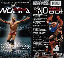 WWE WWF WCW No Way Out 2001 Steve Austin Kurt Angle Rock New Wrestling VHS Tape