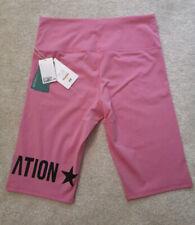 P.E Nation H&M Hm Pink Sports Cycling Shorts Size L