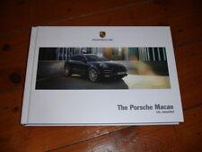 2018 Porsche Macan brochure prospekt