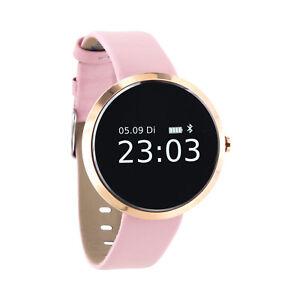 Smartwatch Damen für Android iOS  Armbanduhr Fitness Tracker Herzfrequenz XWATCH