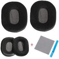 Velour Headphone Ear Pads Cushion For Audio-Technica ATH-M40 ATH-M50 ATH-SX1