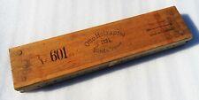 ancien Moule, presse à cigares otto holzapfel  numéroté en bois.