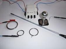 Reizstromset Prinzenzepter 6mm medizinisch Edelstahl Elektrode Tens 4 pol. Plug