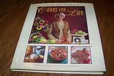 Jeanne Jones, Cooks For Life, Hardcover, w/dustjacket.