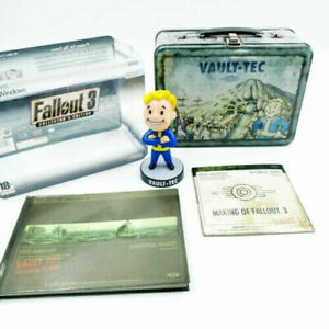 Fallout 3 for PC - Collector's Edition - Lunchbox with Booblehead