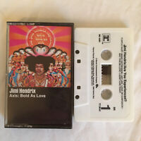 Jimi Hendrix Axis: Bold As Love Cassette Tape Columbia House Free Shipping