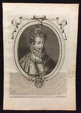 Henry III Roi de France par Nicolas II de Larmessin C 1686