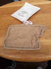 1984 Brown Bag Cookie Art Lucy's Cow w Cookie Book