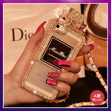 Bling Luxury Glitter Crystal Phone Case Diamond Sparkle Cover For iPhone Samsung