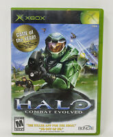 Halo: Combat Evolved (Microsoft Xbox, 2001) Complete Tested Working NFR Disc
