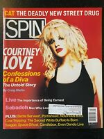 SPIN Magazine - February 1995 Issue - Courtney Love Cover
