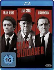 DER CLAN DER SIZILIANER (Jean Gabin, Alain Delon, Lino Ventura) Blu-ray Disc NEU