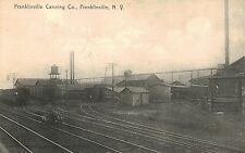 Franklinville,NY.Franklinville Canning Company,Cattaraugus Co.Used,No Stamp,1908