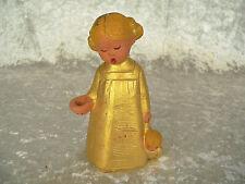Singer Engel Kerzenhalter mit Puppe Gold Jullar 13,5 cm singender Engel