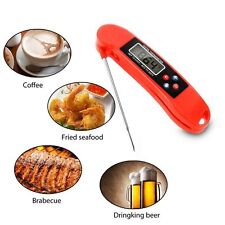 Digital Instant Read Food Cooking Meat Kitchen BBQ Thermometer Temperature ()