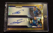 EPL Premier League Breakaway Gold Prizm 2/3 Dual Signatures Walcott & Sigurdsson