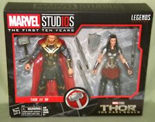"""THOR & SIF 2-Pack #5 Marvel Legends First 10 Years 6"""" Action Figure Dark World"""