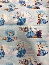 Cinderella Fabric Fq 22x18 cotton