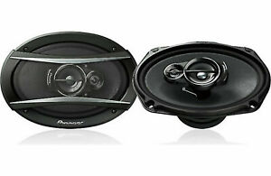 """PIONEER TS-A6976 550W 3WAY 6X9"""" OLD SCHOOL MODEL GREAT QUALITY BASS SPEAKERS NEW"""
