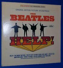 THE BEATLES HELP original Capitol Stereo vinyl Lp inner sleeve Ken Thorne rare