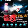CREE H4 HB2 9003 2200W 330000LM 4-Side LED Headlight Kit Hi/Lo Power Bulbs 6000K