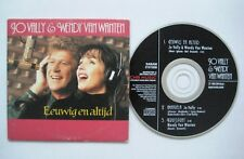 JO VALLY & WENDY VAN WANTEN Eeuwig en altijd 2-track CD Single Card sleeve